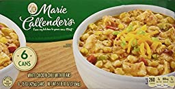 Marie Callenders White Chicken Chili With Beans 6-15 OZ (425g)Cans