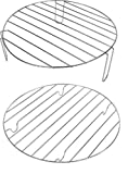 Andrew James High and Low Cooking Racks (set of 2) For A 10 To 17 Litre Halogen Ovens