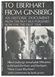 img - for To Eberhart from Ginsberg : A Letter About Howl book / textbook / text book