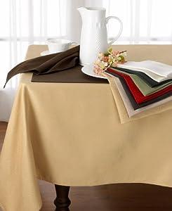 Ralph Lauren Harrison Cream Tablecloth - Oblong Rectangular 70 x 84 inches