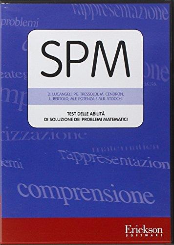 Test SPM. Abilità di soluzione dei problemi matematici. CD-ROM