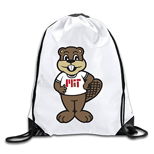[HROSE Unisex Drawstring Bags MIT Mascot Tim The Beaver Drawstring Backpack Sack Bag, Ideal For Gym And Sports] (Ravenclaw Mascot)