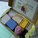 Handmade Special Eight Piece Variety Holiday Soap Gift Set ~ Natural Handcrafted...