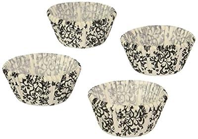 Wilton 415-2354 100 Count Baking Cup, Mini, Damask