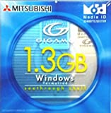三菱化学 KID1G3W1S MO1.3GB ID付き Windowsフォーマット 1枚