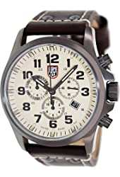 Luminox Men's 1947 Atacama Field Brown/Beige Genuine Leather Watch