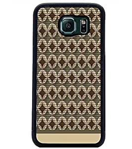 PrintDhaba Pattern D-1577 Back Case Cover for SAMSUNG GALAXY S6 (Multi-Coloured)
