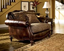 Big Sale Antique Chair and 1/2 by Ashley Furniture # 3230348