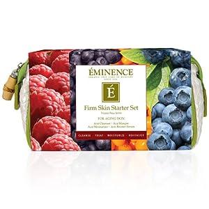 Eminence Firm Skin Starter Set (For Aging Skin) 4Pcs+1Bag by Eminence