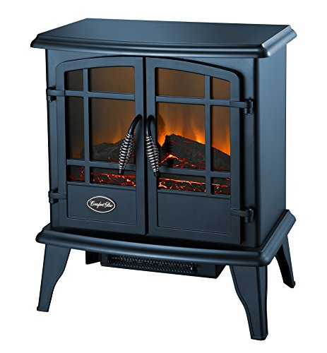 Comfort Glow EQS5133 Steel Keystone Quartz Electric Stove, Blue