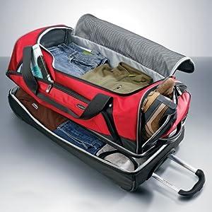 "Amazon Samsonite 30"" Drop Bottom Wheeled Duffel Bag"
