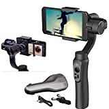 Zhiyun Smooth Q Smartphone Action Camera Handheld 3 Axis Gimbal Stabilizer Selfie Phone for Iphone Sumsung Gopro SJCAM