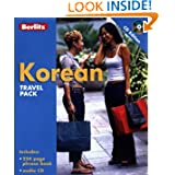 Berlitz Korean Phrase Book & Dictionary (Book & CD)