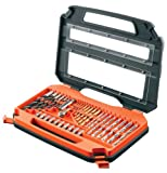 51JsCYR98mL. SL160  Black & Decker 35 piece Accessory Set in Carry Case