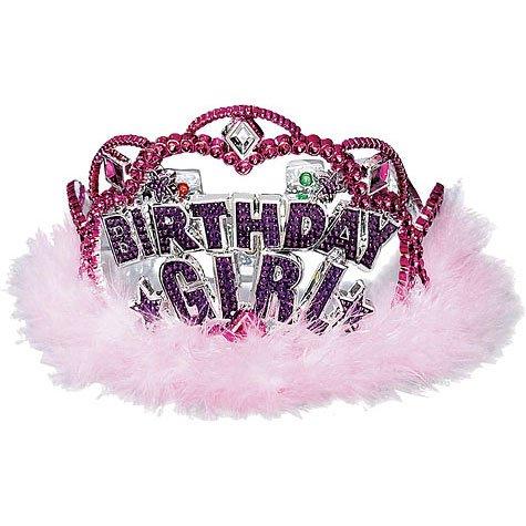 Birthday Girl Flashing Lights Tiara