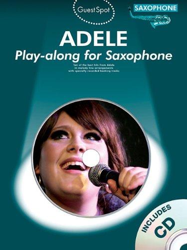Guest Spot Adele Saxophone CD (Guest Spot Book & CD)