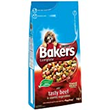 Bakers Complete with Tasty Beef and Country Vegetables Dog Food 5 kg