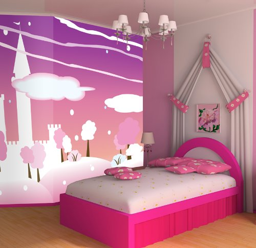 PINK DREAM WALLPAPER MURAL