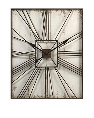 Montgomery Wall Clock, 39.25X31.5X1.5