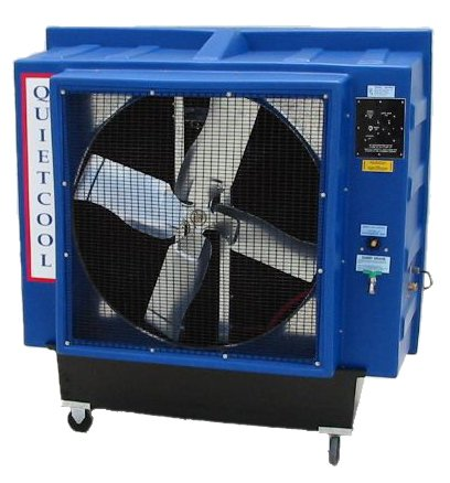 Quietaire QC36B3 36 Inch Belt Drive Portable Evaporative Cooler