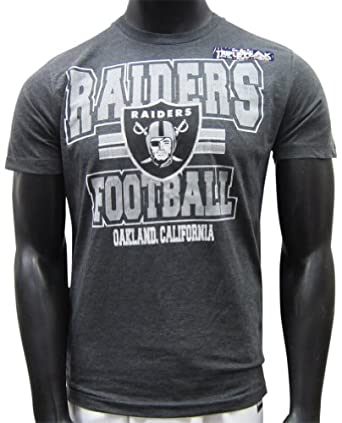 Oakland Raiders Grey Heathered Inside Line II T-shirt by NFL