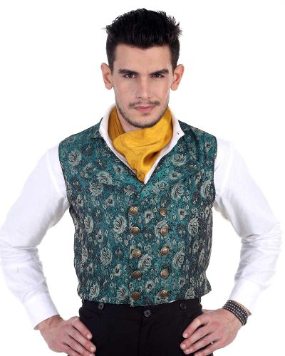Steampunk Victorian Holmes Classic Vest Costume