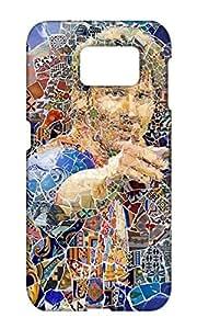 Lionel Messi Design Mobile case back cover for Samsung Galaxy S6 Edge - Printed Designer Cover SGS6EMES25