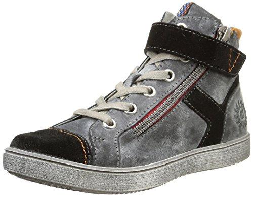 Ramdam - Ozu, Sneakers per bambini e ragazzi, Grigio (Gris (Vtc Gris/Orange Dpf/2367)), 33
