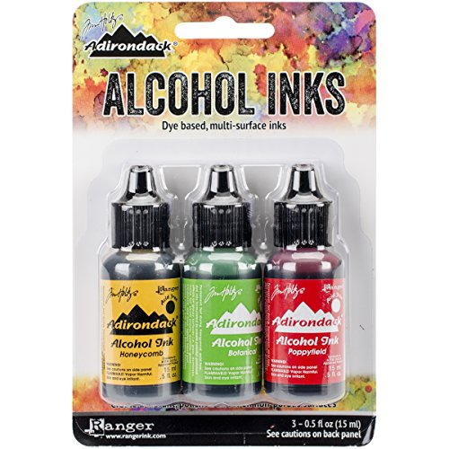 Ranger Adirondack Brights Alcohol Ink, 0.5-Ounce, Conservatory-Honey Comb/Botanical (Ranger Adirondack Alcohol Ink compare prices)