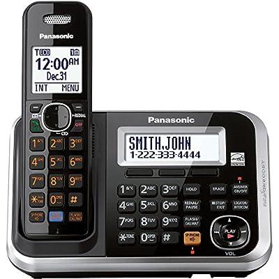 Panasonic KXTG6841B Dect_6.0 1-Handset 1-Line Landline Telephone