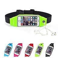 Running Belt Waist Pack, Se7enline Outdoor Sweatproof Reflective Belt Waist Bag for iPhone 6S/6 PLUS…