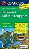Isarwinkel - Bad Tölz - Lenggries: Wanderkarte mit Aktiv Guide, Radwegen und Skitouren. GPS-genau. 1:50000 (KOMPASS-Wanderkarten)