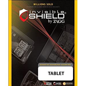 ZAGG™ invisibleSHIELD™ Screen Coverage for Acer ICONIA Tab A200