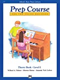 Alfred's Basic Piano Prep Course Theory, Bk E: For the Young Beginner