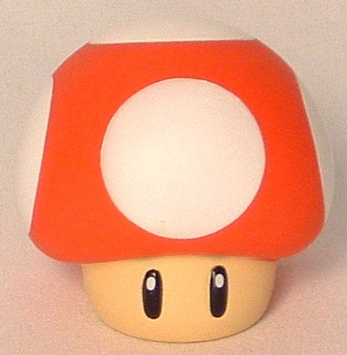 Picture of Banpresto Super Mario Brothers Collectible Vinyl Mushroom Red Figure (B001KPKBG2) (Banpresto Action Figures)