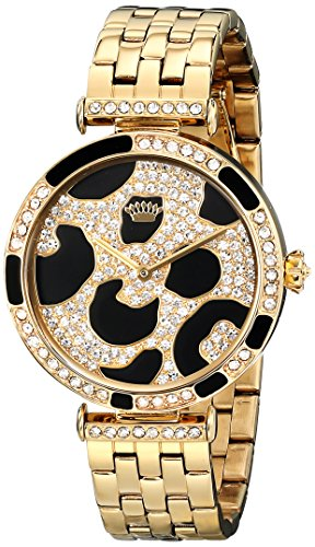 Juicy Couture Women's 1901169 J Couture Analog Display Quartz Gold Watch