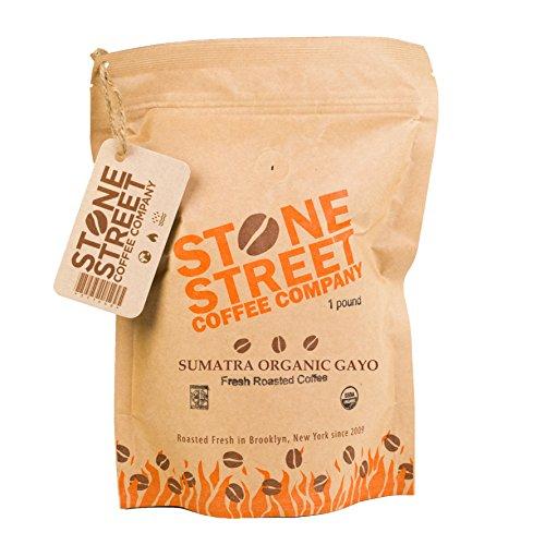 DARK SUMATRA ORGANIC Fair Trade Coffee | Whole Beans | 1 Lb Bag | Rich/Bold Dark Roasted | Single Origin | Premium Quality & Taste (Fresh Roasted French Roast compare prices)