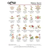 OESD Embroidery Designs Pack Spring Glitz #12192 Multi- Formatted USB Stick