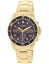 Victorinox Swiss Army Men's Maverick 241691 Gold Stainless-Steel Swiss Quartz Watch
