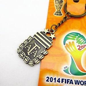 FIFA World Cup 2014 Brazil National Teams Keyring Keychain (Argentina)
