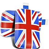 Union Jack Design Leather Pull tab Pouch Skin ProtectiveCase Cover For HTC DESIRE 300 (XL) Mobile Cellular Phone