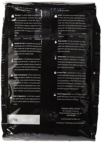 Kicking Horse Coffee, Whole Bean, 454 Horse Power, 2.2 Pound