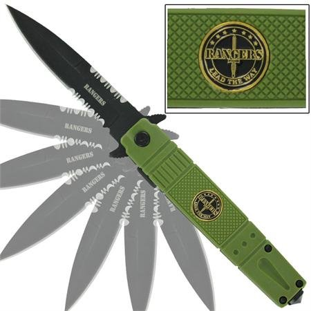 Rangers Spring Assisted Emergency Knife
