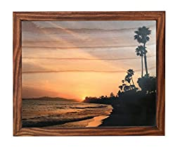 Photo Wood Print Framed, Butterfly Beach, By Meadow Rose Photo Art.