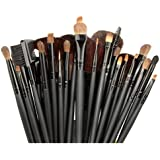 Bestton 32 PCS Professional Beauty Cosmetic Makeup Brush Set Kit with Pouch Black