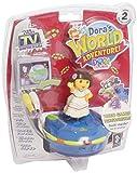 DORA THE EXPLORER Dora's World Adventure Video Game Controller with 4 Games