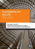 img - for Foundations for the LPC 2015-16 (Blackstone Legal Practice Course Guide) book / textbook / text book