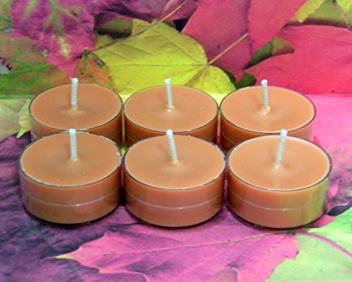 Pumpkin Pie PURE SOY Tea Light Candles (Candle Warmers Non Electric compare prices)