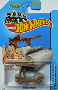 Hot Wheels 2014 The Flintstones Tooned 1 Hw City The Flintmobile 83