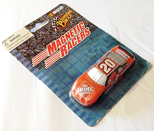 Tony Stewart #20 Home Depot 1:64 Scale Diecast Magnetic Racers NASCAR Magnet (Dated 2003)